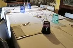 Saletta interna romantica a Maranello per anniversari